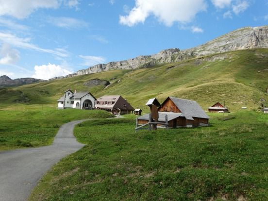 Four Lakes Walk between Engelberg and Melchsee-Frutt in central Switzerland.