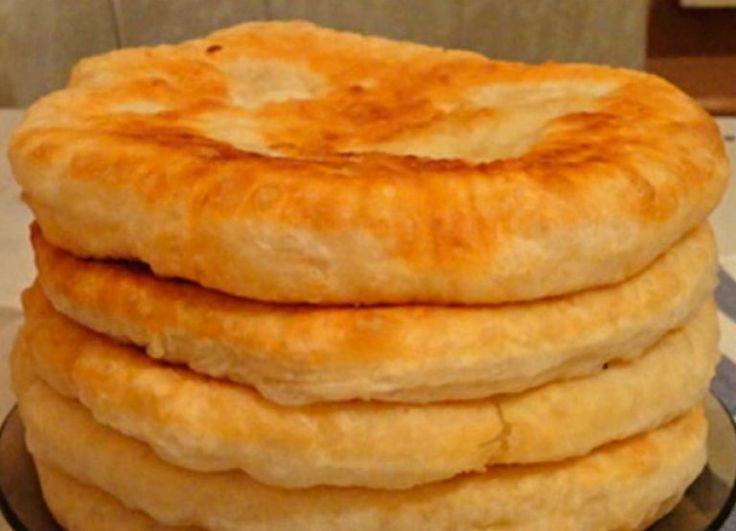 С этим рецептом забудешь, что такое хлеб! Пушистые лепешки на кефире: вкусно и быстро | Самые вкусные кулинарные рецепты