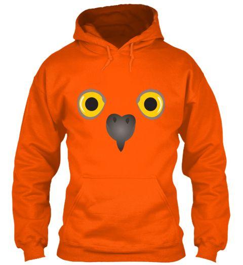 Oi Safety Orange Sweatshirt Front
