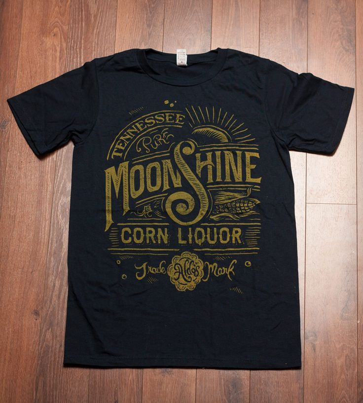 Navy Blue Moonshine T-Shirt | Men's Clothing | Straw Castle | Scoutmob Shoppe | Product Detail