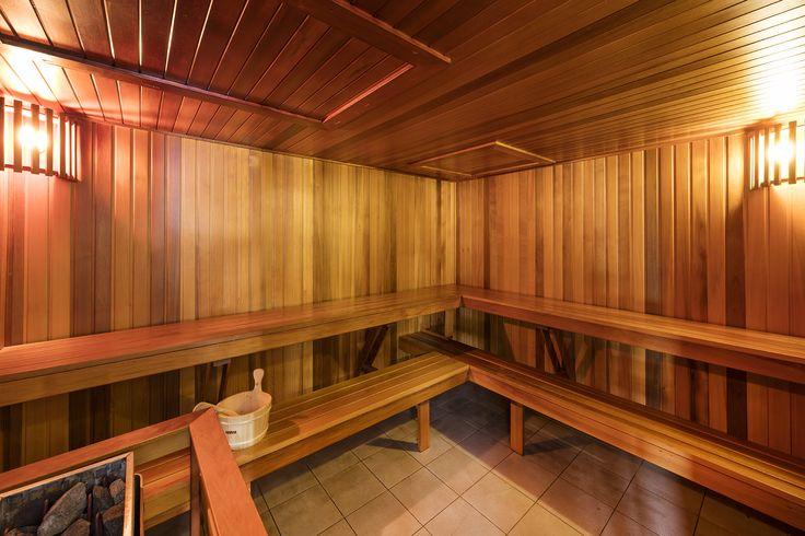 Sauna on Level 61 #Sydney #Australia #Luxury #Hotels #HighRise #Meriton