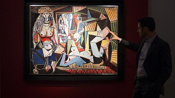 """""""Les femmes d'Alger"""" de Picasso, toile la plus chère vendue aux enchères."""