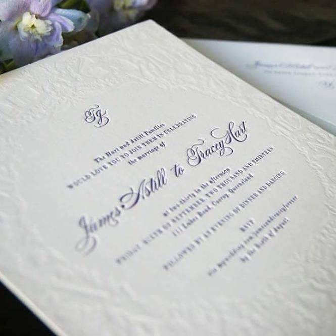 Vintage Bride ~ Calligraphy Wedding Invitations by Creative Emporium ~ [vintagebridemag.com.au] ~ #vintagebride #vintagewedding #vintagebridemagazine