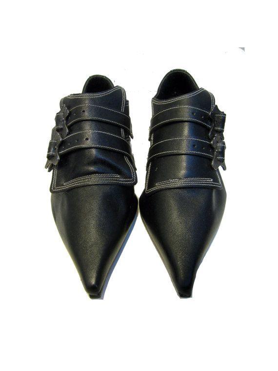Hey, I found this really awesome Etsy listing at https://www.etsy.com/listing/225047052/vintage-john-fluevog-shoes-womens-black