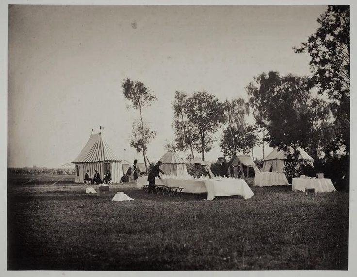 Preparation of the Emperor's Table, Camp de Châlons, 1857