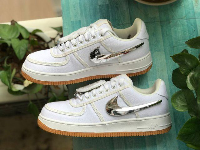 Air Force 1 Low Travis Scott Sail With Images Travis Scott