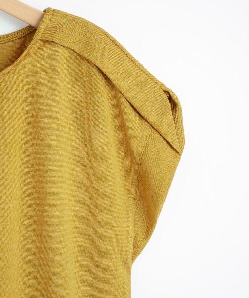 【セール】 デザインショルダープルオーバー(カットソー)   le.coeur blanc/ルクールブラン のファッション通販サイト…