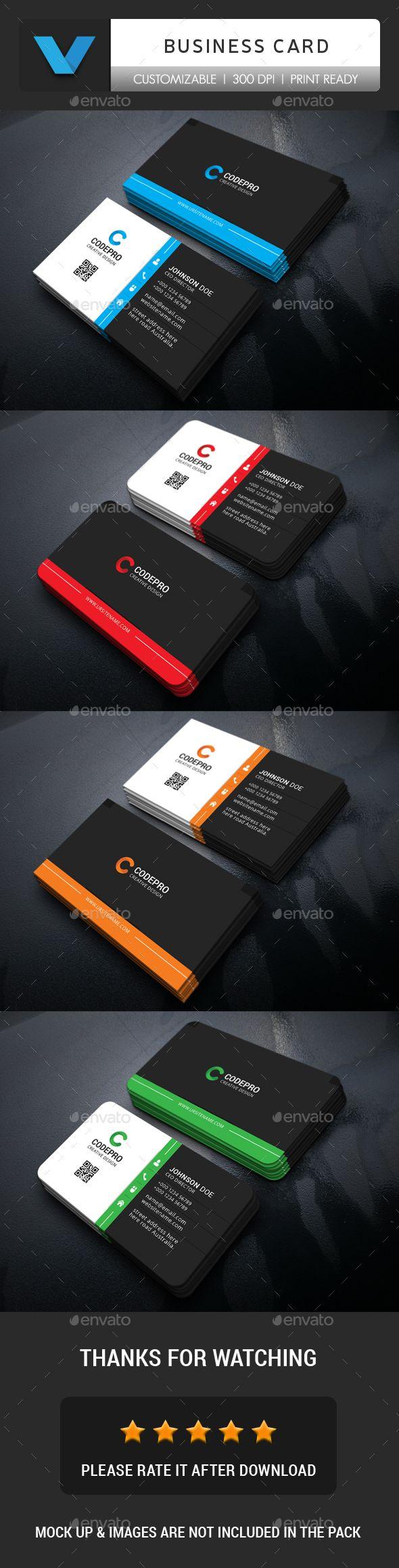 Corporate Business Card - Corporate #Business Cards