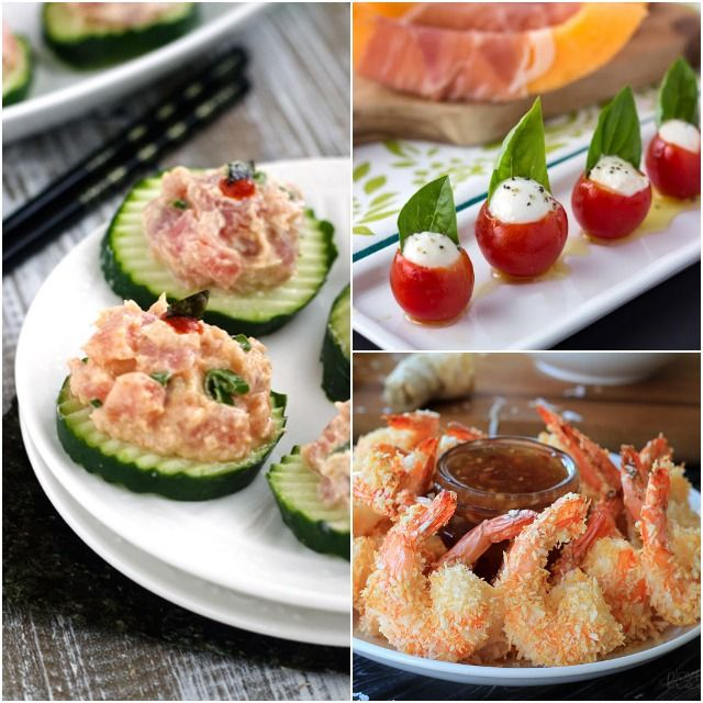 100+ Healthy Holiday Appetizer Recipes + Cocktail Party