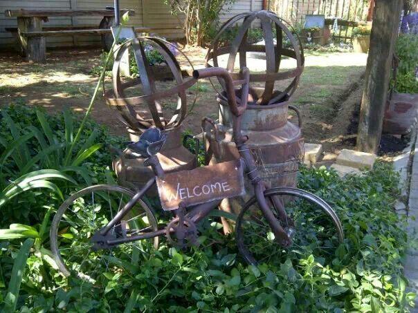 """Ek """"love"""" n geroeste fiets"""