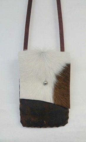 Bolsa de hombro rústico monedero suroeste por WhiteFeatherLeather