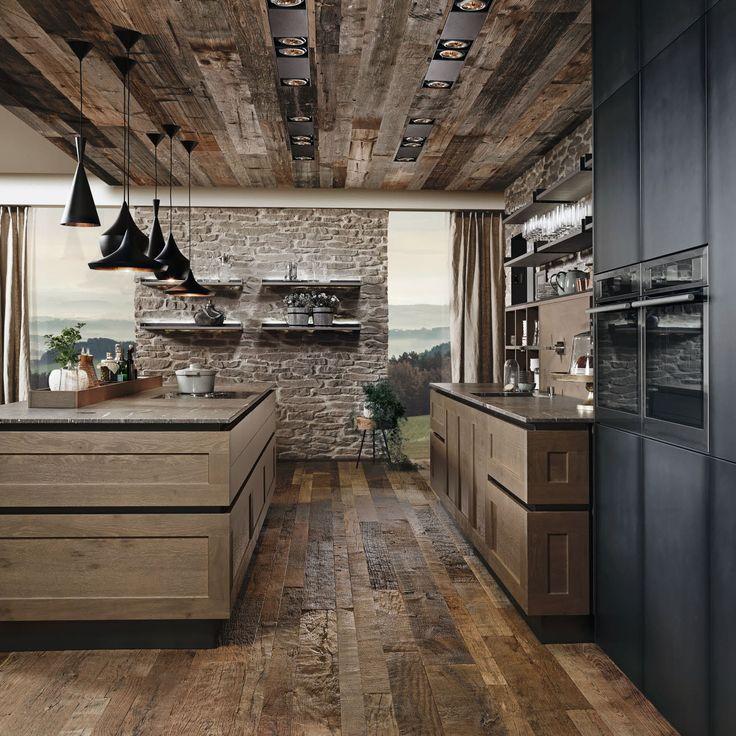 FM Küche Nordkamm mit Fronten in Eisenoptik