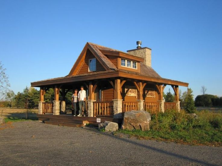 Small Timber Frame House | Bristol Mountain Timber Frame Cabin Exterior In  The Summer. | Cottages | Pinterest | Timber Frame Houses, Bristol And Cabin Part 55