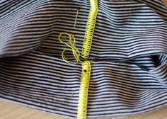 Tutorial: Wie nähe ich eine Flachnaht mit der Overlock (via Bloglovin.com )