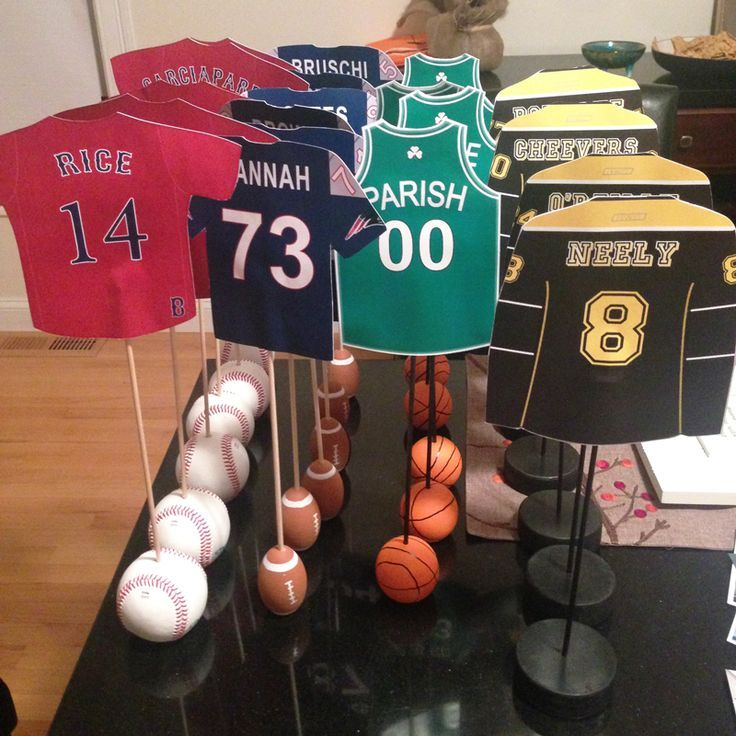 Boston Sports Themed Table Numbers for Wedding    Red Sox, Patriots, Celtics, Bruins  //  Beth and Paul's wedding  //  baseball, football, basketball, hockey  //  wedding table numbers  //  how to incorporate sports into wedding                                                                  >>  contact: kristy@style-blueprint.com for pricing and additional information