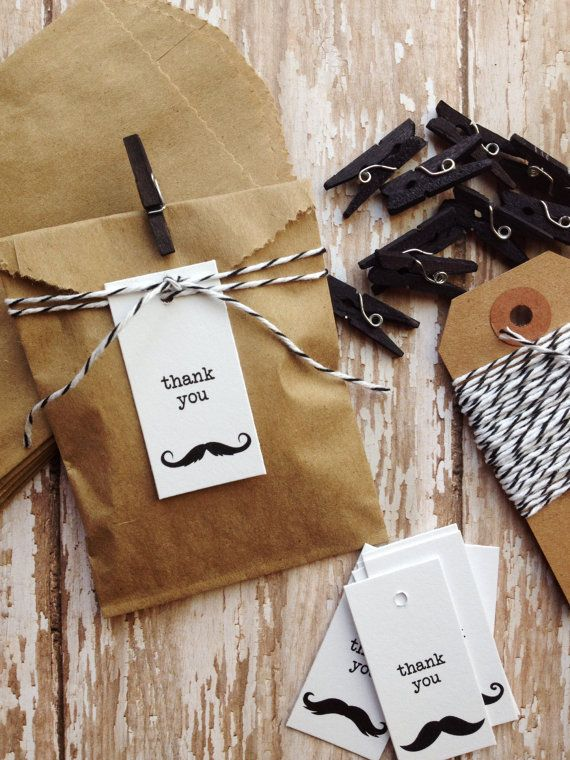 Birthday party favors mustache bash  wedding by PrintSmitten, $10.00