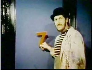 """Sesame Street's """"The Mad Painter""""   I'd totally forgotten about him! This sketch was hilarious when I was 4!"""