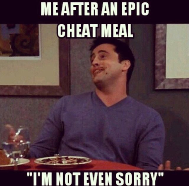 Me after an epic cheat meal, im not even sorry. Joey from Friends