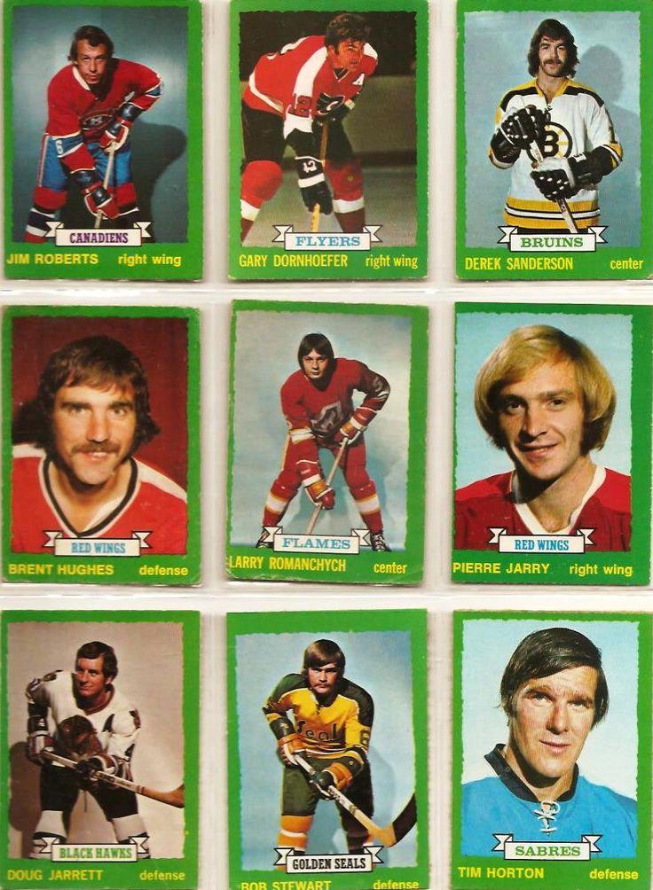 181-189 Jim Roberts, Gary Dornhoefer, Derek Sanderson, Brent Hughes, Larry Romanchych, Pierre Jarry, Doug Jarrett, Bob Stewart, Tim Horton