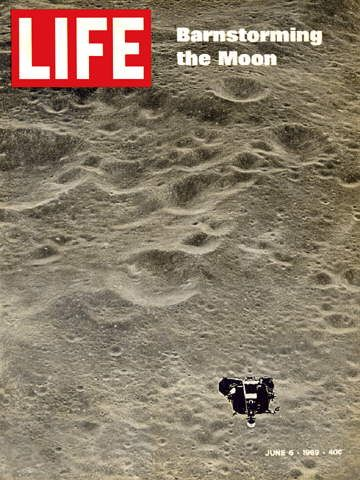 LIFE Magazine June 6, 1969 - Apollo 10 Barnstorming the Moon