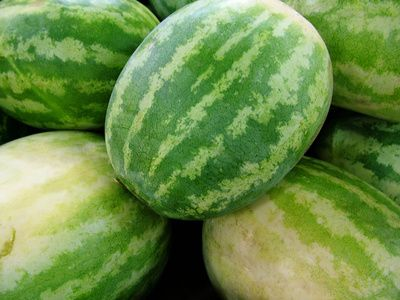 watermelon can have the effect of a natural diuretic according to this article.
