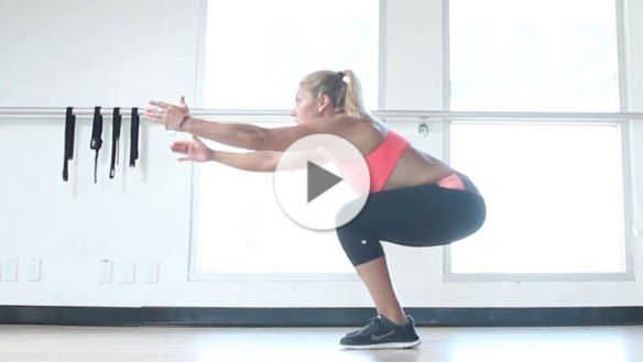 Work that Ass,  How to do a proper squat