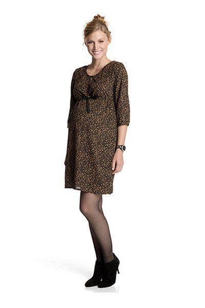 Robe de grossesse mode: Esprit imprimé - EN IMAGES. Dix robes de grossesse pour passer l'hiver avec style - L'EXPRESS