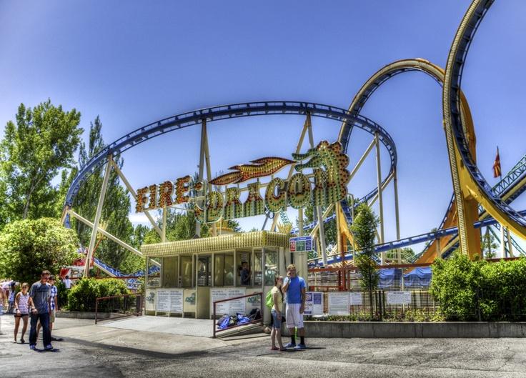 The Colossus Roller Coaster Lagoon Amusement Park, Utah | Lagoon ...