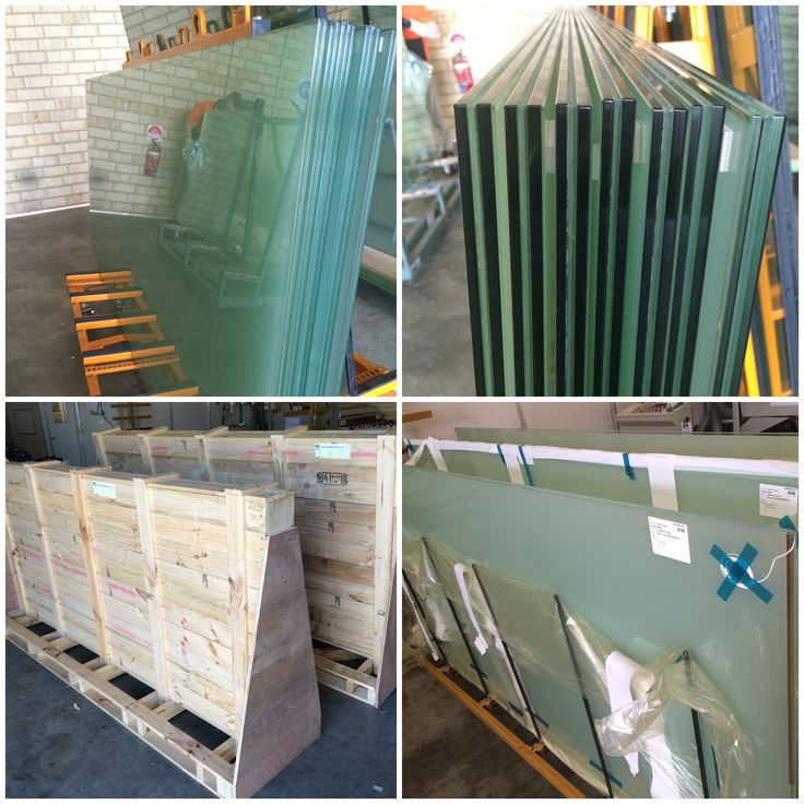 15.52mm acoustic Switchglass safely packed and bound for Viridian Glass in Tasmania.