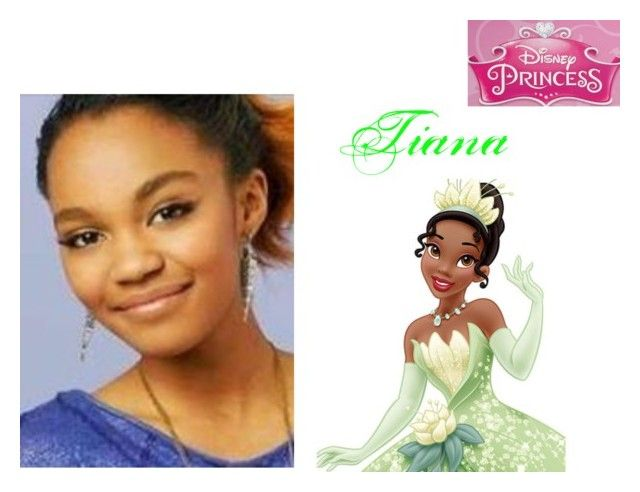 """China Ann McClain (Chyna Parks in Ant Farm) as Tiana"" by mimi-world on Polyvore featuring Disney"