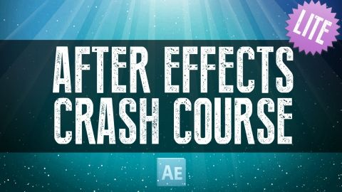 After Effects Crash Course - Getting Started Lite Version - A beginner video guide to get started with Adobe After Effects. Take the Complete Course after this one! - Free