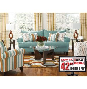 7 piece living room set with tv for Cheap 3 piece living room sets