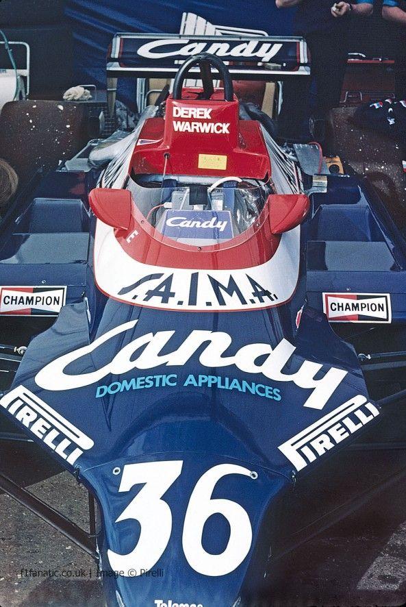 Derek Warwick's Toleman TG181, 1981