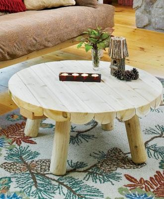 This Stubby Legged Rustic Table Is Ready For Long Wearing Use Winter And  Summer Season After Season.