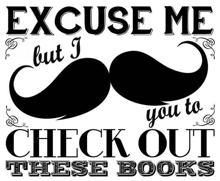 Literary Hoots: Library Display: No-Shave November