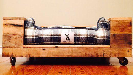 5 camas de palets para mascotas para toda la vida