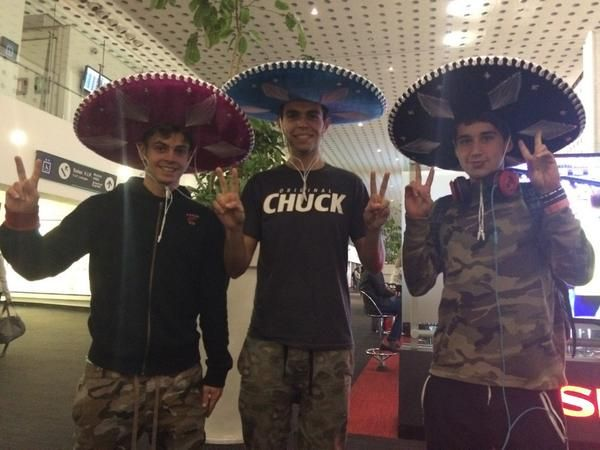 they finally went to mexico