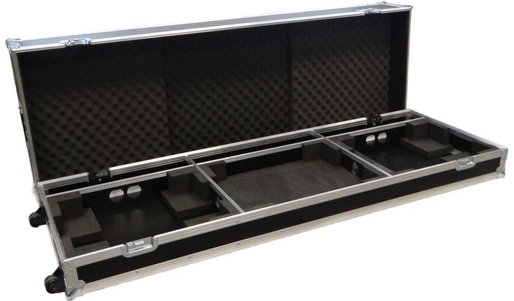 Custom made DJ Flight case manufactured to protect fragile equipment from getting damaged such as scratches, dents etc. So for more info visit www.trifibre.co.uk and keep your equipment safe from all danger coming it's way.