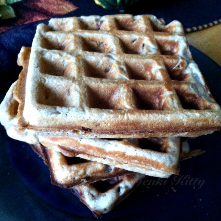 Apple Cider Waffles Vegan Recipe