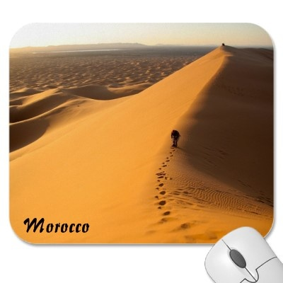 Sand Dunes in Morocco Mousepad by claudiaf65