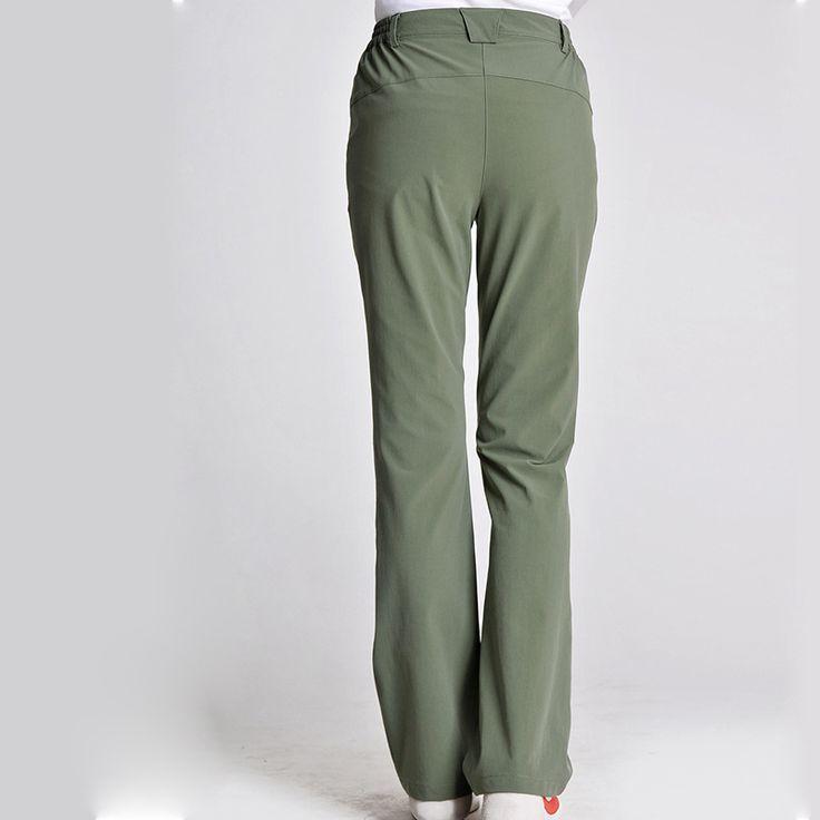 Free Shipping Lady climbing Fitting Quick Dry Pants Women Outdoor Hiking Elastic  Sportwear Long Trousers Windproof Waterproof