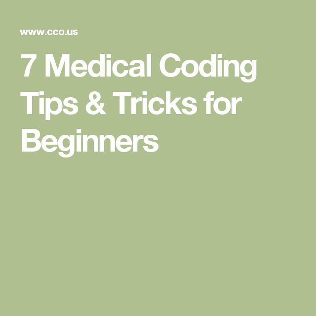 7 Medical Coding Tips & Tricks for Beginners