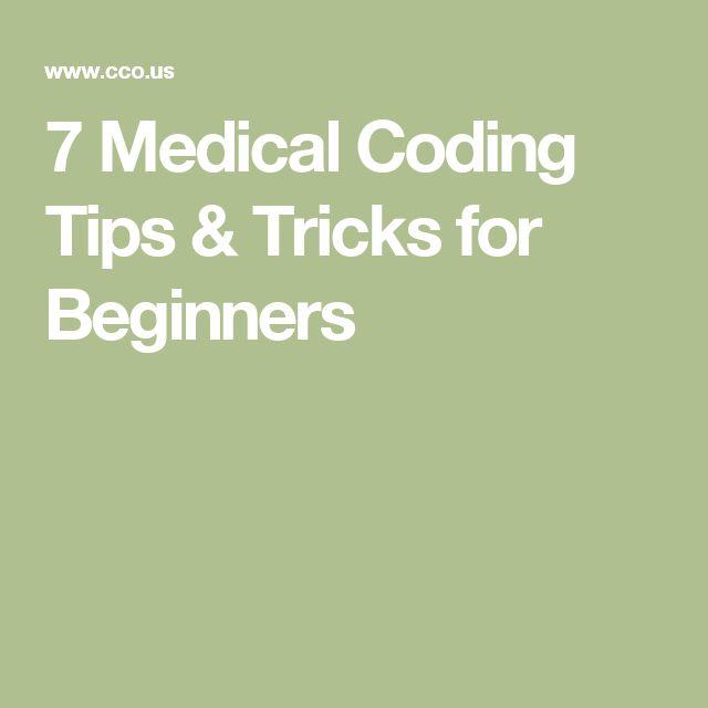 7 Medical Coding Tips & Tricks for Beginners