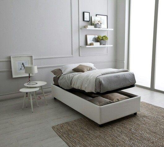 Oltre 25 fantastiche idee su letto singolo contenitore su for Ikea letti singoli con contenitore