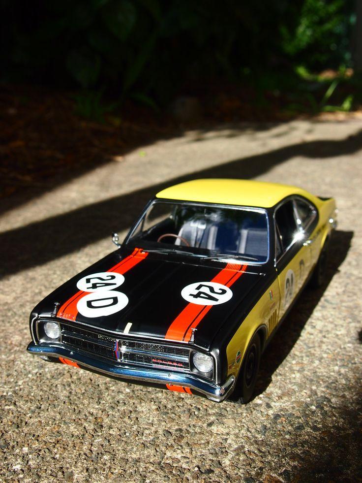 Holden HK Monaro GTS 327 - Bathurst 500 1968 - 2nd Place - Biante - 1/18