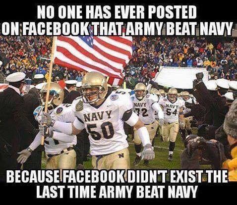 Army vs Navy football