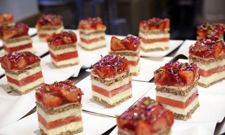 【Australia】 #Strawberry Watermelon Cake – Black Star Pastry #sweet #cake #delicious #cutter #slicing #baker #Dessert #cheesecake