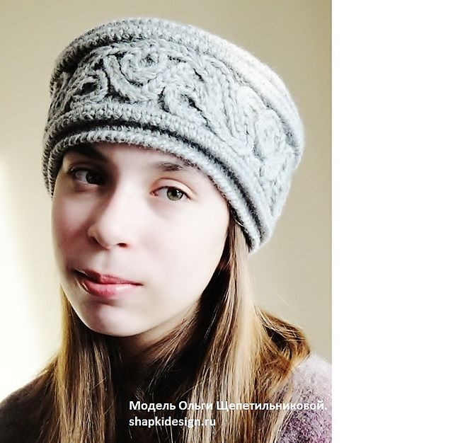 Ravelry: Project Gallery for Russian winter Hat pattern by Olga Shepetilnikova