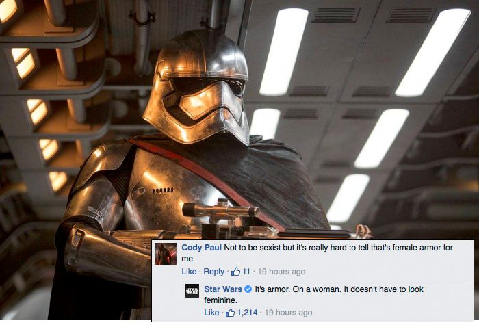 Star Wars is not here for your armor misconceptions
