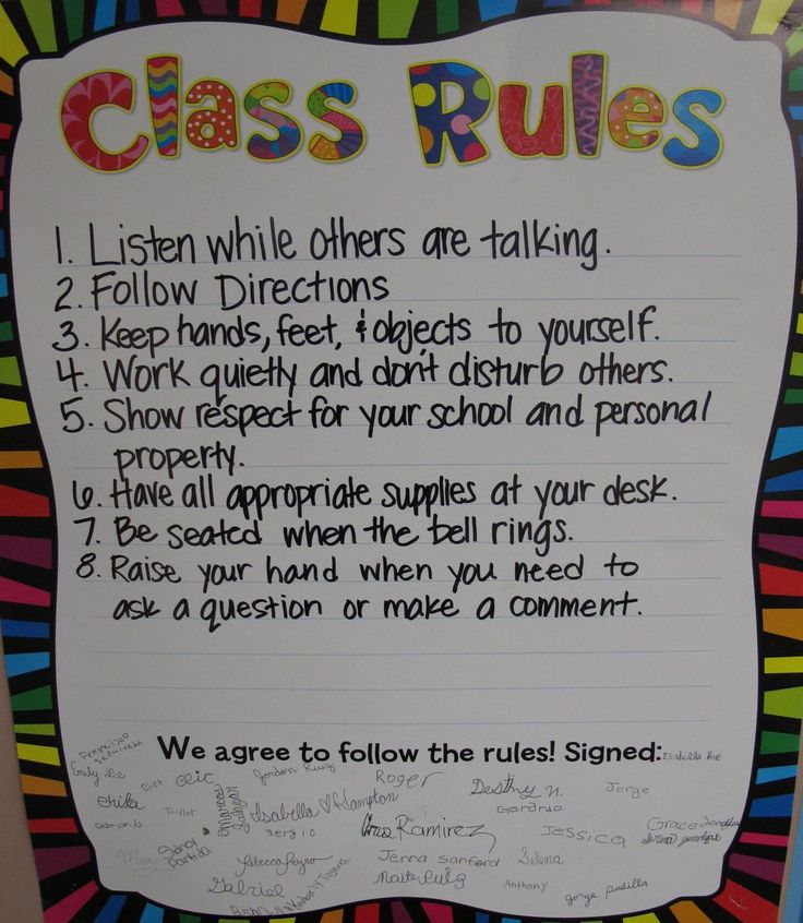 1000+ images about classroom rules good and bad examples ...
